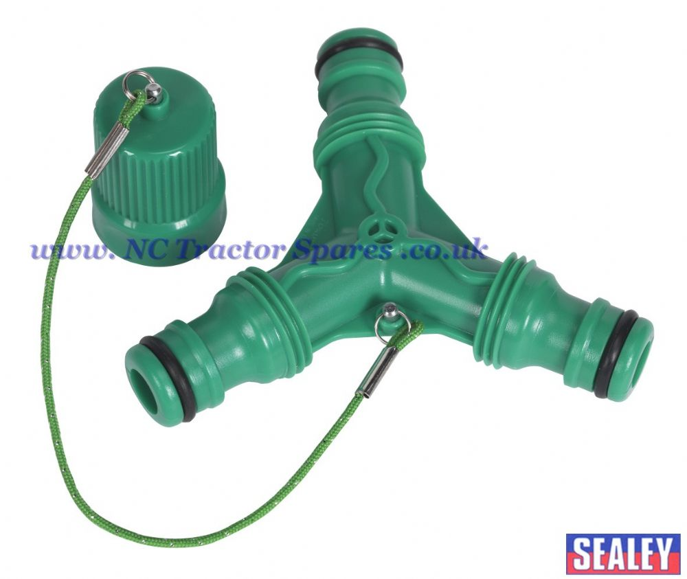 Water Coupling Connector 3-Way